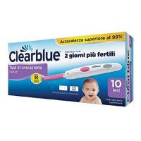 CLEARBLUE OVULATION DIG 10STIK