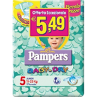 PAMPERS BABY DRY DOWN J 17PZ
