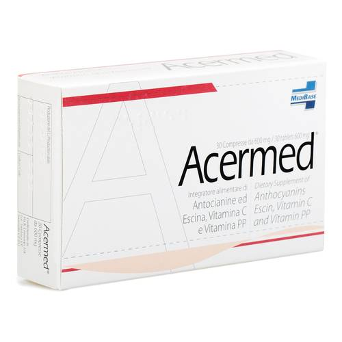 ACERMED Integratore Alimentare 600 mg 30 compresse