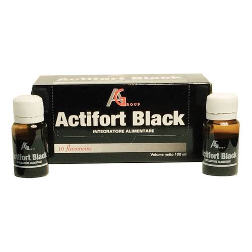 ACTIFORT BLACK 10FL 10ML