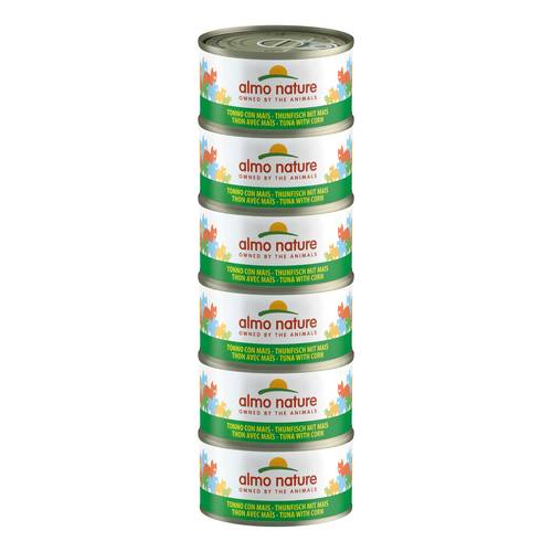 ALMO NATURE CAT TONNO MAIS 70G