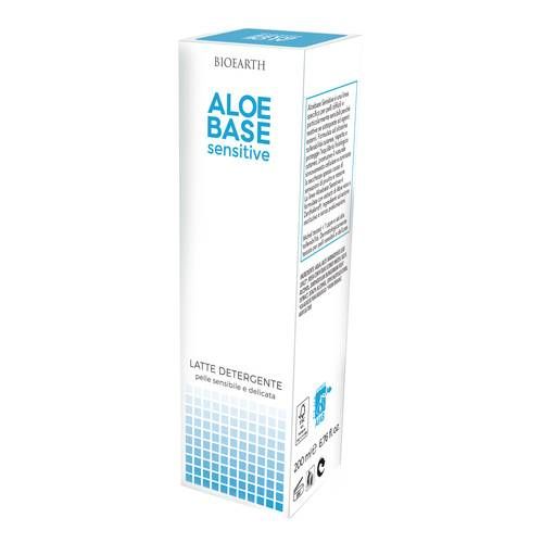 ALOEBASE Sensitive Latte Detergente 200 ml