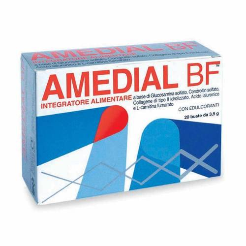AMEDIAL BF Integratore Alimentare 3,5 g 20 buste
