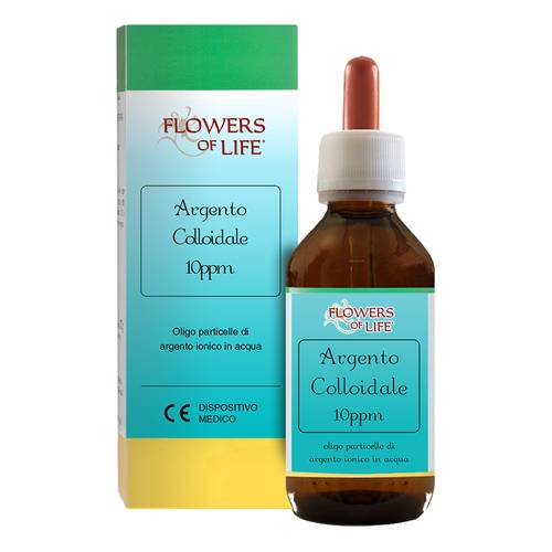 ARGENTO COLL 10PPM 250ML FLOWE