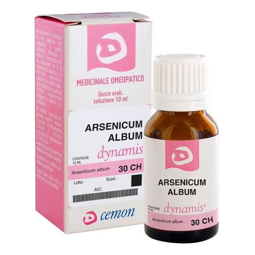 ARSENICUM ALBUM 30CH 10ML GTT