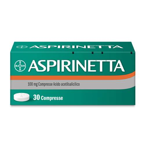 ASPIRINETTA*30CPR 100MG
