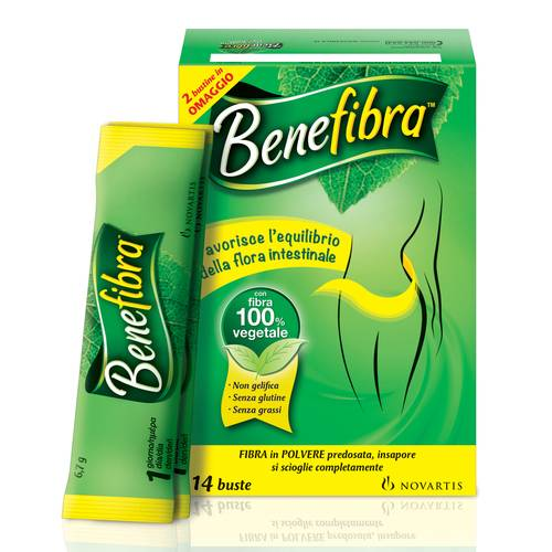 BENEFIBRA KIT 12+2STICK OMAGGI