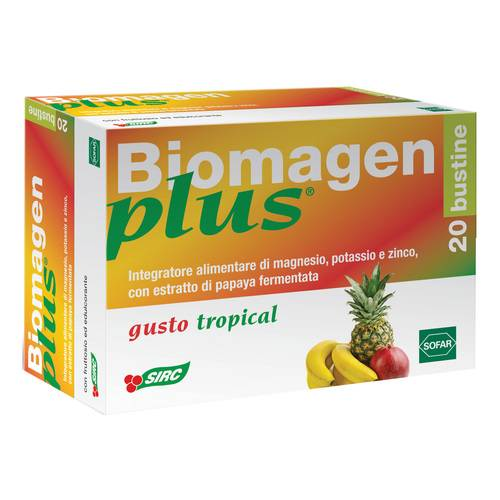 BIOMAGEN PLUS TROPICAL 20BUST