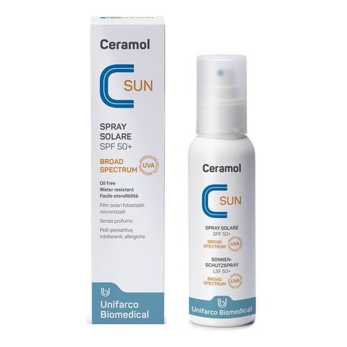 CERAMOL SUN SPRAY SPF50+ 125ML