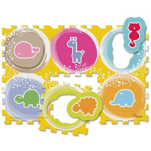 CH TOY PUZZLE MAT ANIMALS
