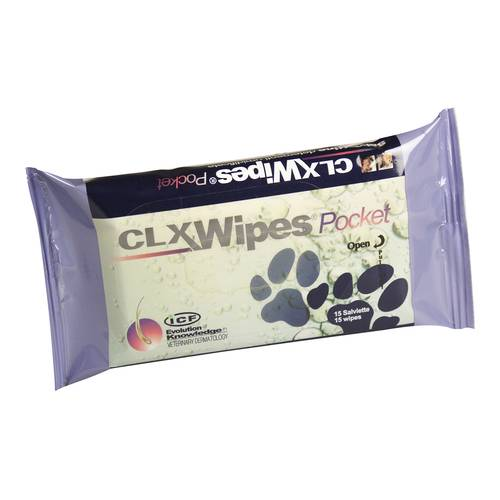 CLX WIPES POCKET 15PZ
