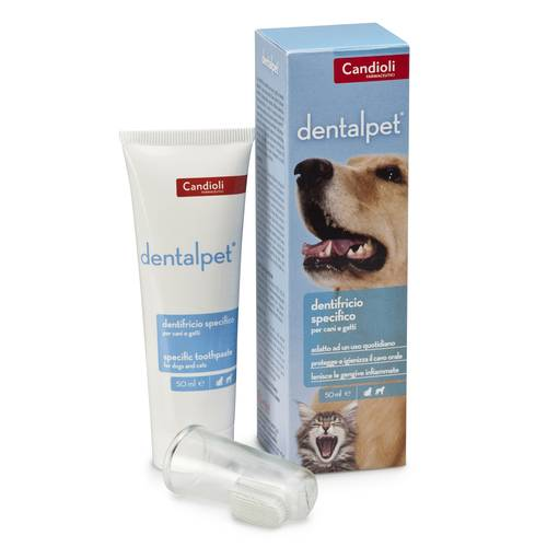 DENTALPET Dentifricio 50ml
