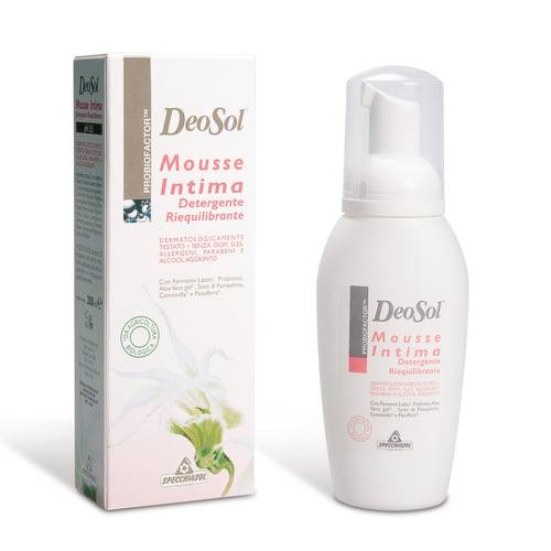 DEOSOL MOUSSE INTIMA 200ML