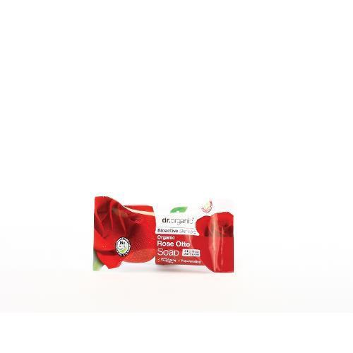 DR ORGANIC ROSE SOAP 100G