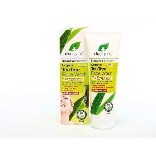 DR ORGANIC TEA TREE FACE WASH