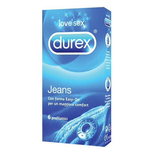 DUREX Jeans Easy-on 6 pz