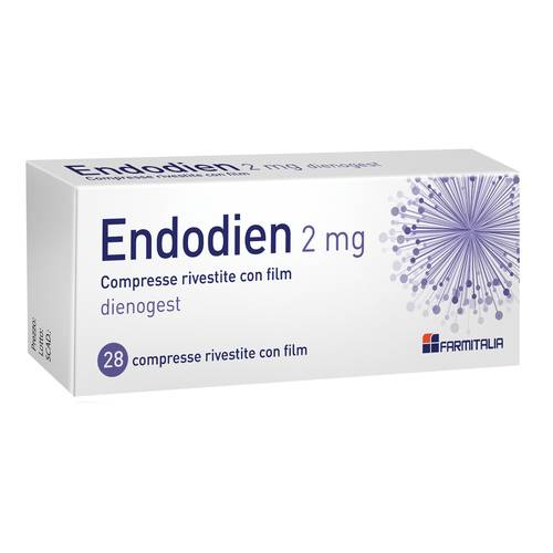 ENDODIEN*28CPR 2MG