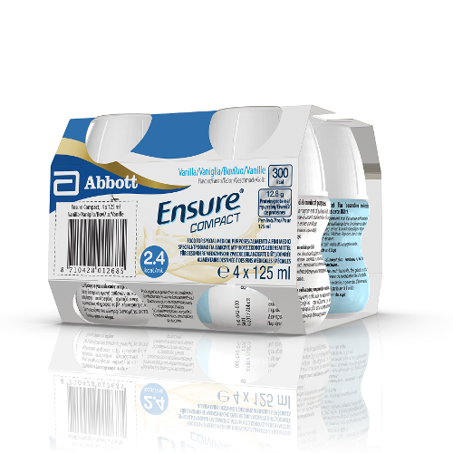 ENSURE COMPACT VANIGLIA 4X125ml