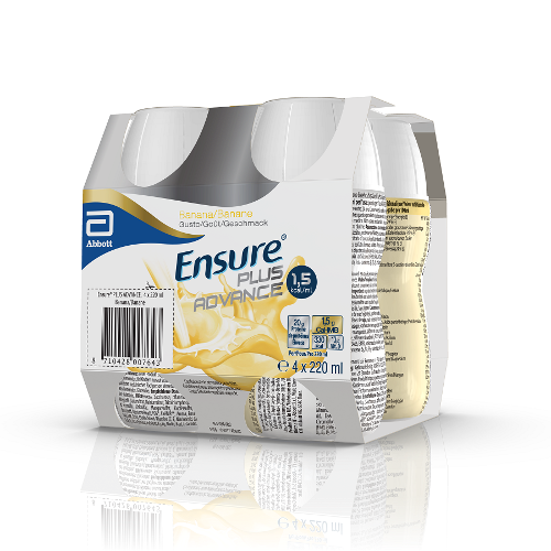 ENSURE PLUS ADVANCE BAN4X220ML
