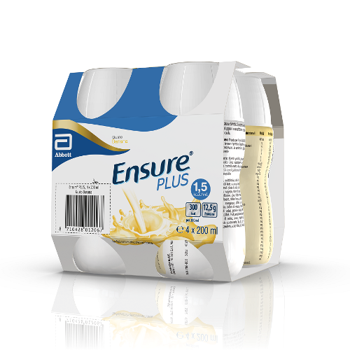 ENSURE PLUS BANANA 4X200ML