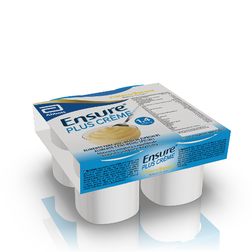 ENSURE PLUS CREME BANANA4X125G