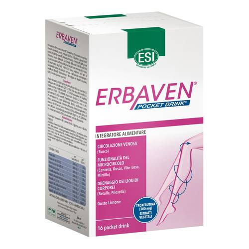 ERBAVEN 16 POCKET DRINK 320ML