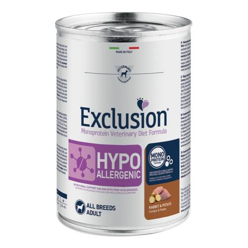 EXCLUSION DIET H RABBI/POT400G