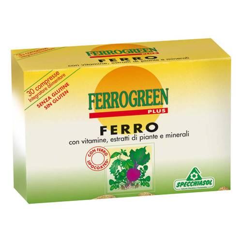 Ferrogreen Plus compresse Astuccio 30 compresse