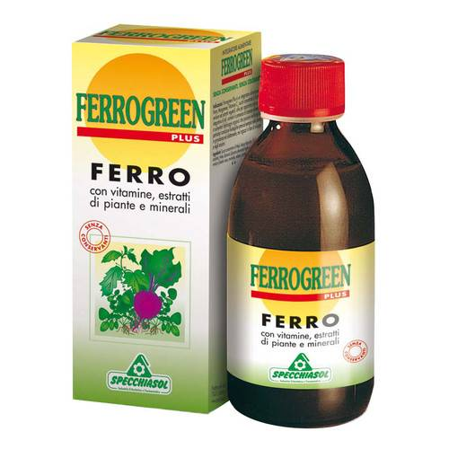 Ferrogreen Plus sciroppo Flacone 170 ml
