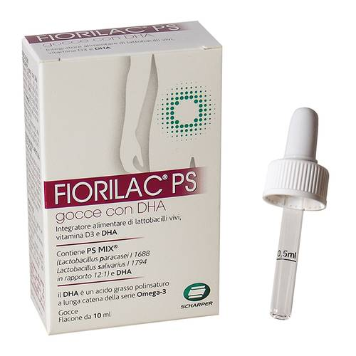 FIORILAC PS C/DHA GOCCE 10ML