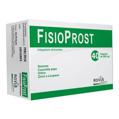 FISIOPROST INTEGR 40CPS 500MG