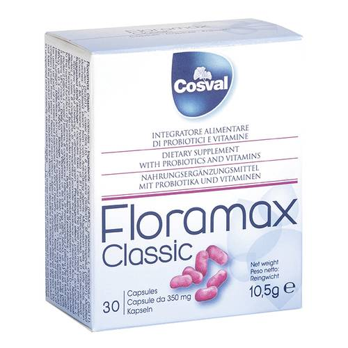FLORAMAX 30CPS 350MG