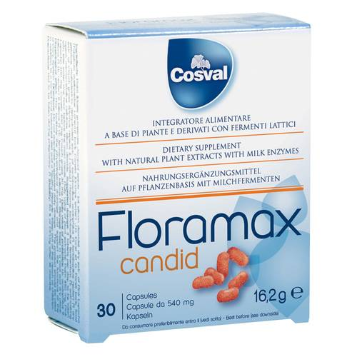 FLORAMAX CANDID 30CPS 540MG