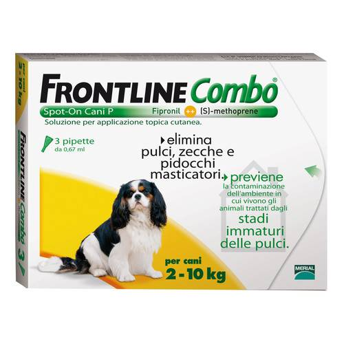 FRONTLINE COMBO Speciale Cani 0,67 3 pipette
