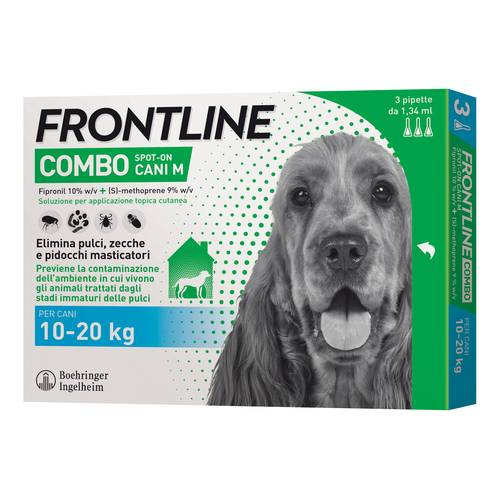 FRONTLINE COMBO Speciale Cani 1,34 3 pipette