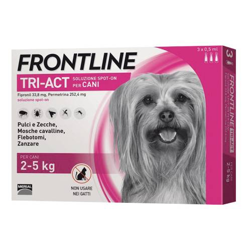 FRONTLINE TRI-ACT*3PIP 0,5ML