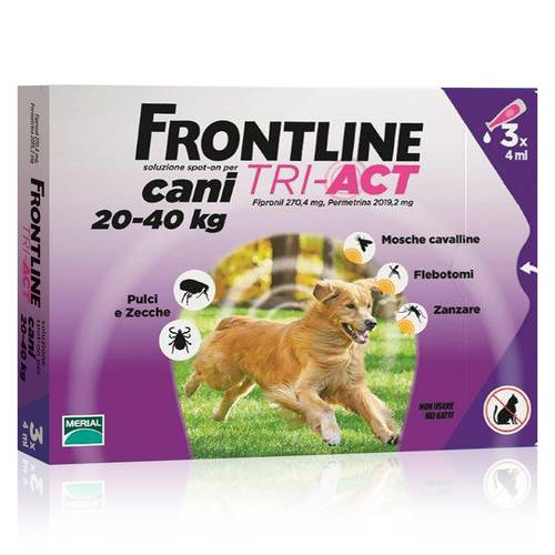FRONTLINE TRI-ACT*3PIP 20-40KG