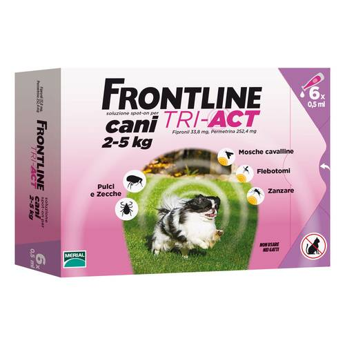 FRONTLINE TRI-ACT*6PIP 0,5ML