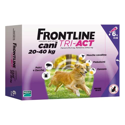 FRONTLINE TRI-ACT*6PIP 20-40KG