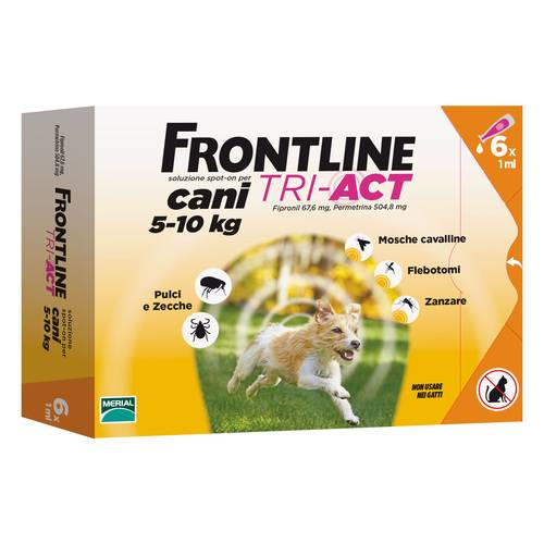 FRONTLINE TRI-ACT*6PIP 5-10KG