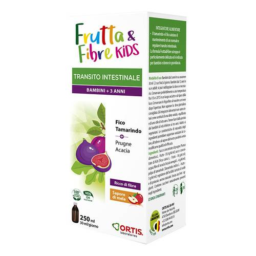 FRUTTA & FIBRE KIDS SCIR 250ML
