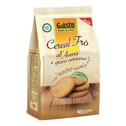 GIUSTO S/G CEREAL FRO' 250G
