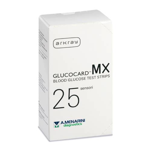GLUCOCARD MX BLOOD GLUCOSE25PZ