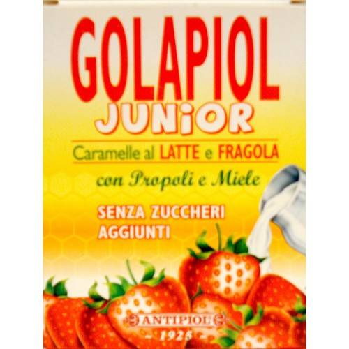 GOLAPIOL Junior Latte Fragola 24 compresse