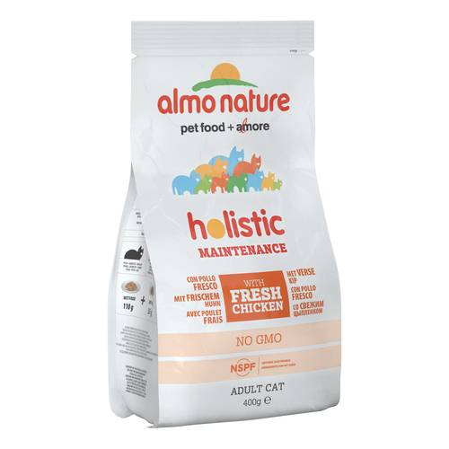 HOLISTIC CAT POL/RISO 400G