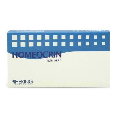 HOMEORHUS HOMEOCRIN 3 10F 2ML