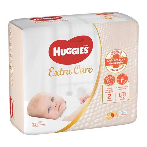 HUGGIES BEBE' BASE 2 24PZ