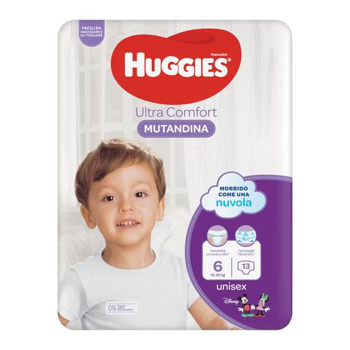 HUGGIES DIAPER PANT BASE 6 13P