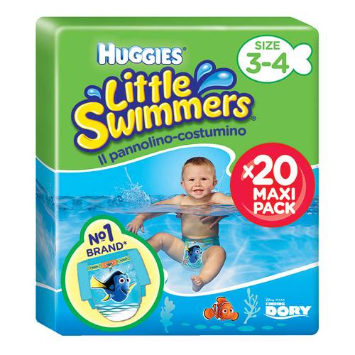 HUGGIES LITTLE SWIMMERS S 20PZ