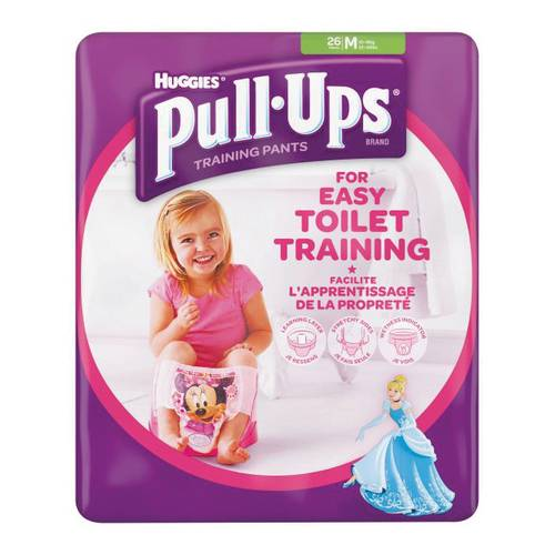 HUGGIES PULL UPS GIRL12/18 26P